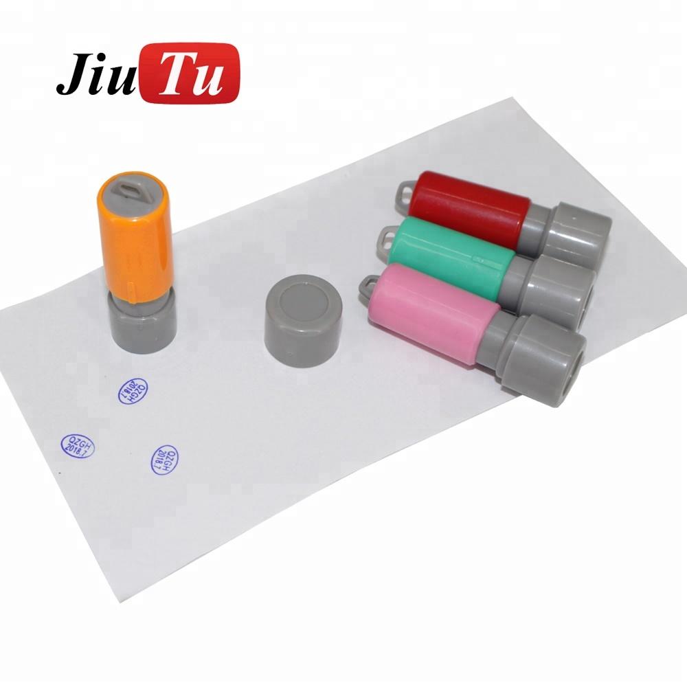 Custom DIY จดหมายซีลปิดผนึก Self - Inking Wax Seal แสตมป์แสตมป์ตัวอักษรตัวอักษร