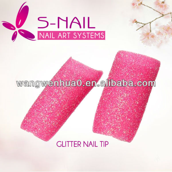 new glitter acrylic nail tips wholesale nail supplies
