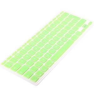 """LOHASIC EU/UK Keyboard Cover Silicone Skin for Macbook 13"""" 15"""" 17""""-Green"""