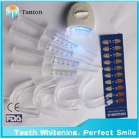 Detal laser 5pcs led light home teeth whitening kit white light tooth whitening system