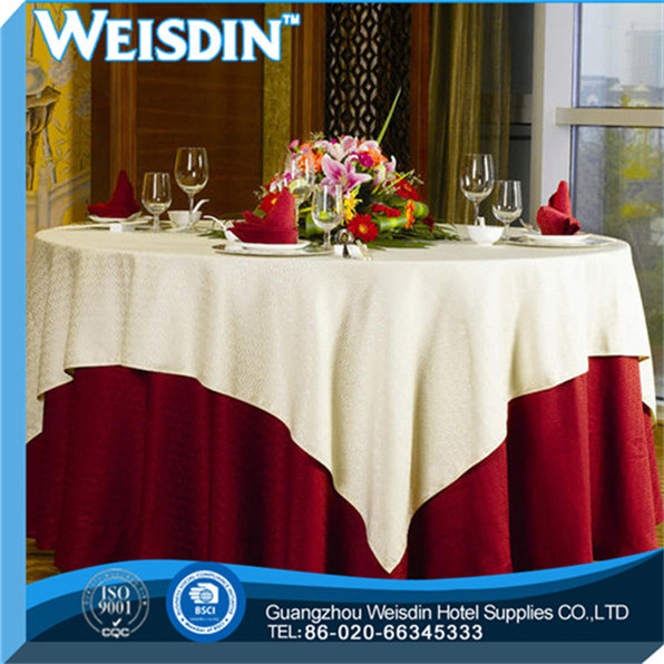 Wedding manufacturing square pvc tablecloth with non woven backing