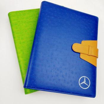wholesale journal pattern  recycled leather notebook  pu cover diary