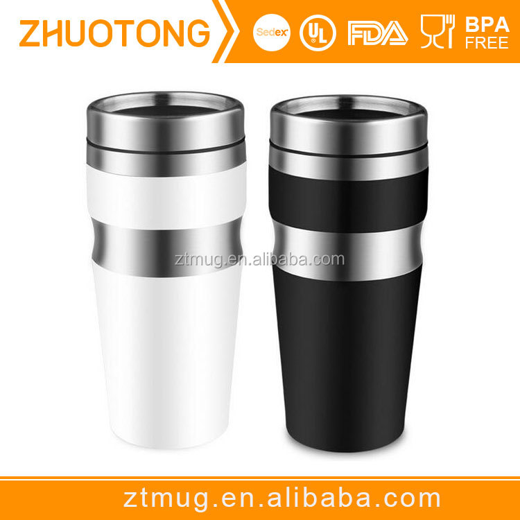 Stainless Steel Thermos Travel Mug With