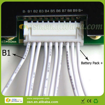 Bms 10s 20a For 37v Li-ion Battery Pack - Buy Bms 10s 20a,Lifepo4 Pcb,Bms  For Lifepo4 Battery Product on Alibaba com