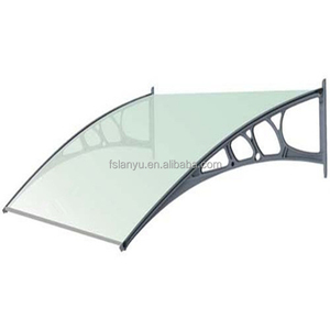 Lanyu virgin plastic raw material polycarbonate window canopy designs