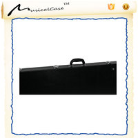 mother's day promotion Hardshell learn acoustic Bass classical jazz Guitar Flight Case kits Plush Lined Interior Wood Shell