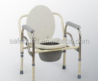 Stoel Voor Ouderen : Vouwen patiënt ouderen potje stoel volwassen potje stoel folding