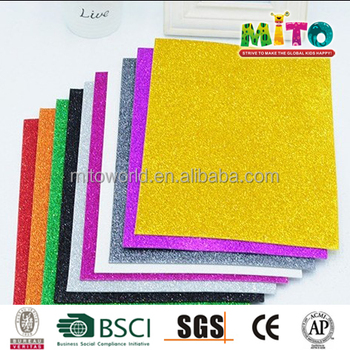 Diy Craft Assorted Color Wholesale Glitter Foam Sheet - Buy Glitter  Sheet,Glitter Foam Sheet,Thin Glitter Foam Sheets Product on Alibaba com