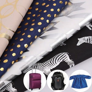 240T embossing fabric hot stamping pongee fabric for bags and lining