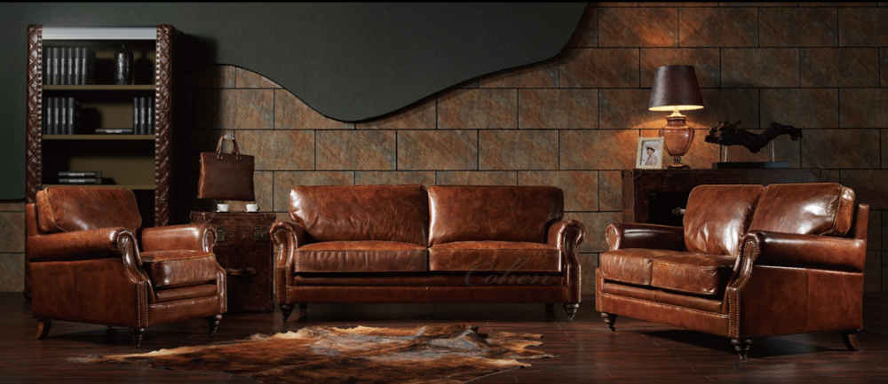 Wholesale Original Master Rubelli Leather Sofa Malaysia