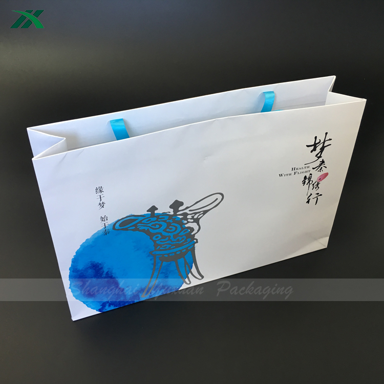 wholesale print paper bag for cosmetic products