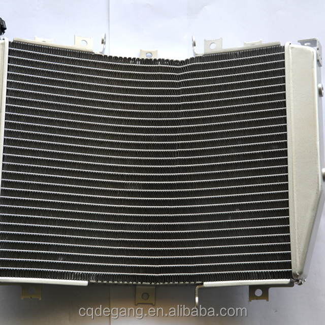 kawasaki zx 6rg 03 all aluminum curve motorcycle radiator for after sale market