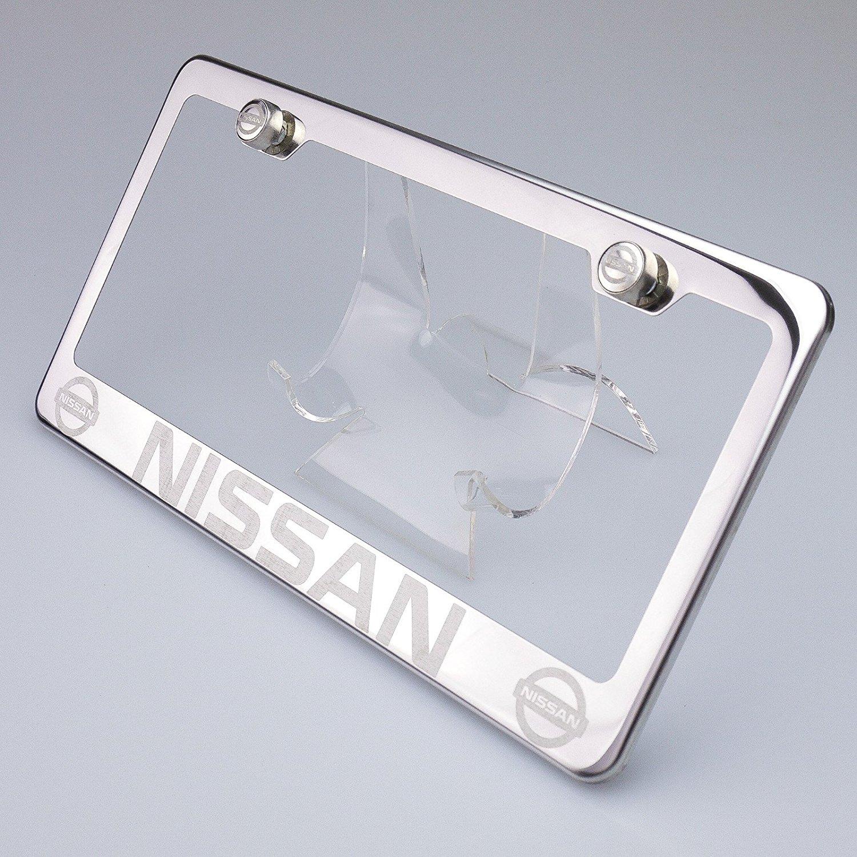 Buy 100% Stainless Steel Nissan Laser Engrave Chrome Mirror Polish ...