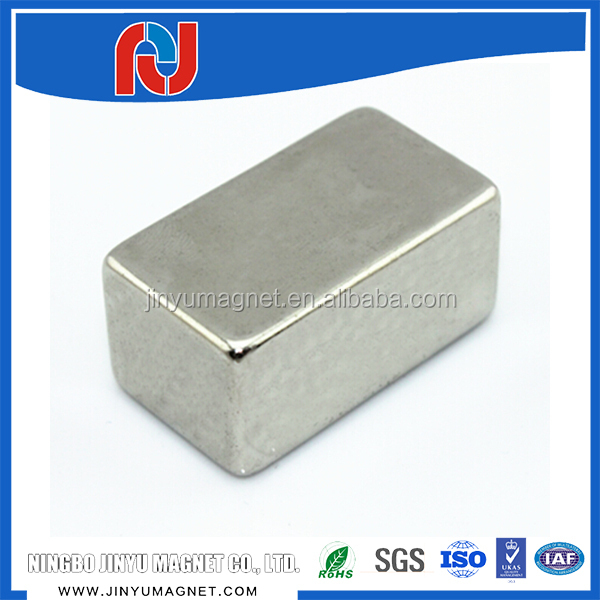 N50 permanent industrial lifting magnets with nickel plating