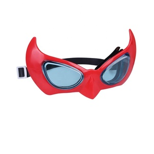 Young swimmer cartoon rubber band swimming goggles for kids