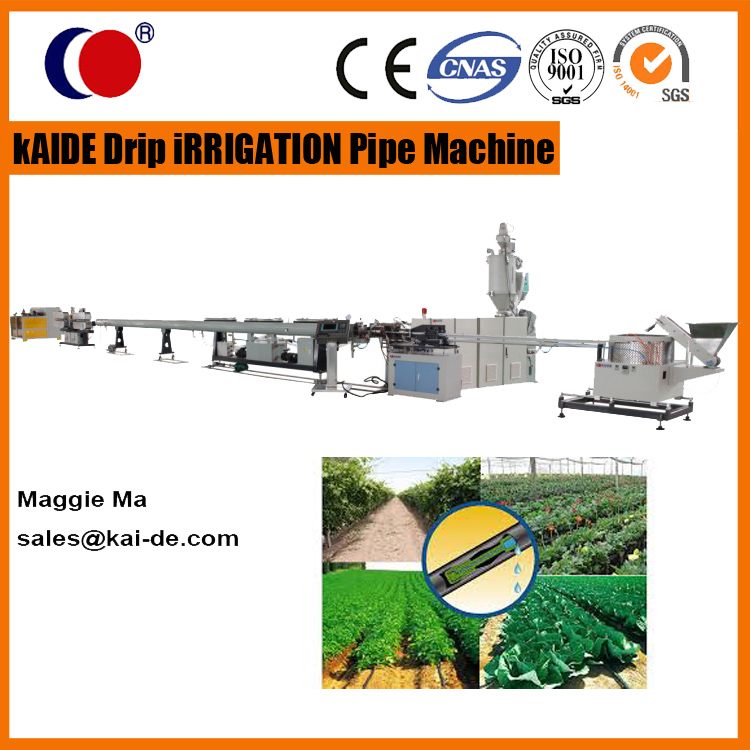 drip irrigation hose extrusion line