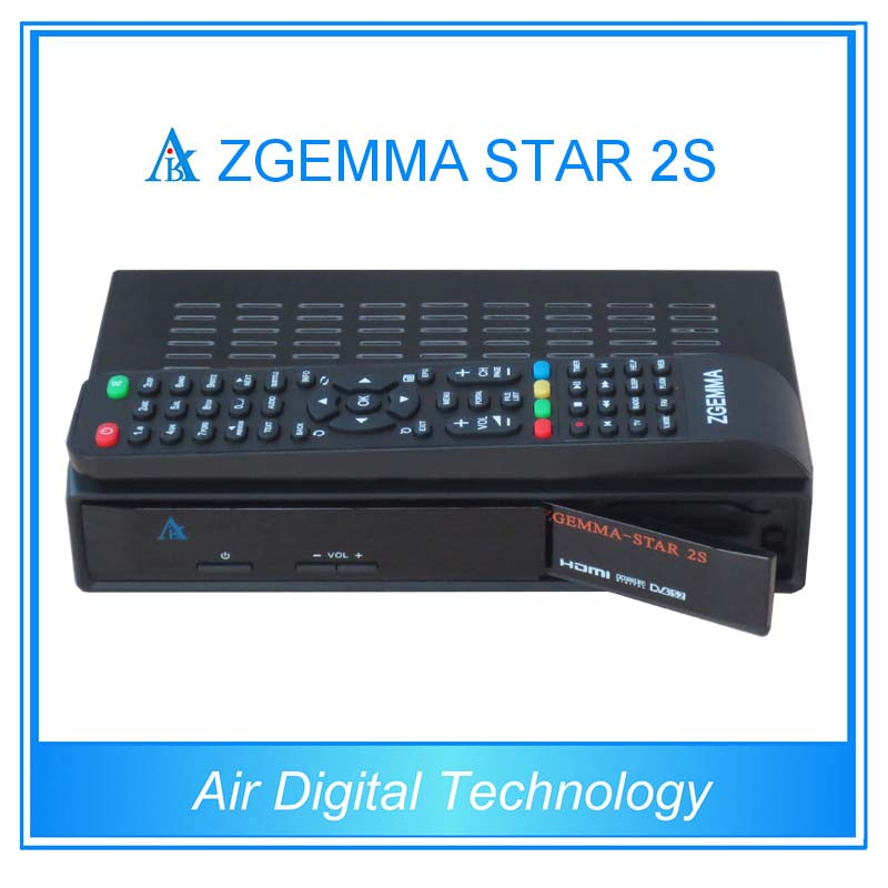 Zgemma-star 2s Twin Tuner Dvb S2 Receiver Iclass Receiver Cloud Ibox  Upgraded - Buy Zgemma-star 2s,Satellite Receiver,Cloud Ibox Product on