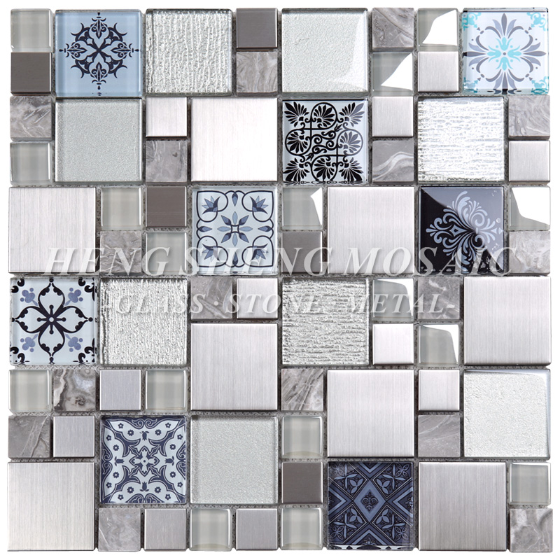 Wholesale Moroccan Cube 3d Stone And Glass Mosaic Wall Tile With High  Quality   Buy Glass Mosaic Wall Tile,Moroccan Mosaic Tile,Cube 3d Mosaic  Tile Product ...