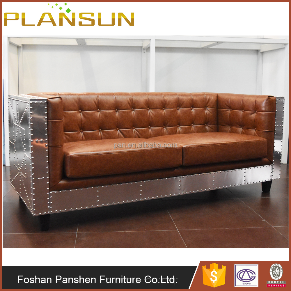 Industrial furniture sofa - Aviator Leather Sectional Sofa Aviator Leather Sectional Sofa Suppliers And Manufacturers At Alibaba Com