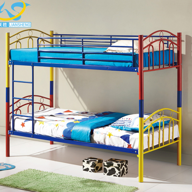 Metal Furniture Qatar Kids Bunk Bed With Slide