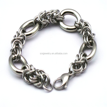 custom latest popular friendship bracelets charm handcuffs china factory 316l stainless steel jewelry