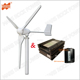 800W AC 48V 3 Blades Wind Turbine Generator with 2500W 48V Wind Solar Hybrid MPPT Controller with Buck and Boost Function