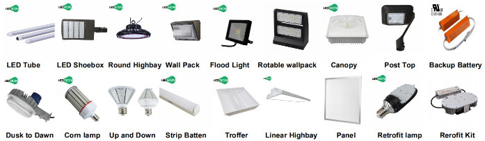 4ft /2ft US inventory IP65 led Linear high bay 50w 100w 150w 200w 300w motion sensor available