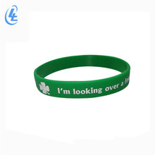promotional gift custom cheap thin engraved rubber printed debossed mens sport silicone wristband