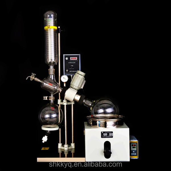 Top grade vacuum evaporation unit with 3L rotary flask