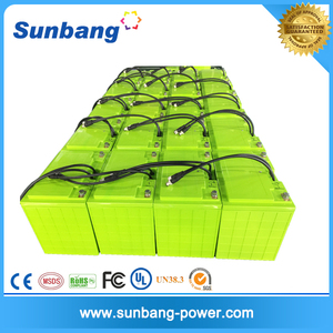 Electric car batteries sale large capacity New Solar LiFePo4 Battery for media equippment/golfcart solar panel telecom