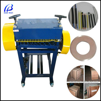 Hw-a Used Wire Stripping Machines With Ce Scrap Cable Processing ...