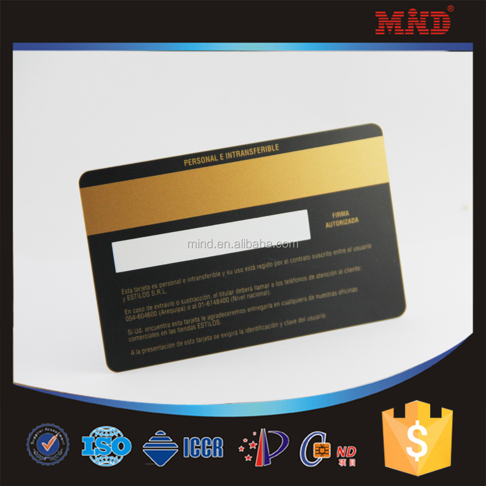 Signature Strip Pvc Card, Signature Strip Pvc Card Suppliers and  Manufacturers at Alibaba.com