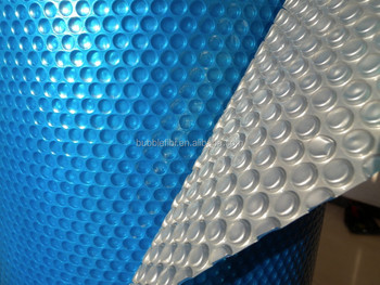 Blue/silver Solar Blanket Solar Pool Covers Swimming Pool Cover ...