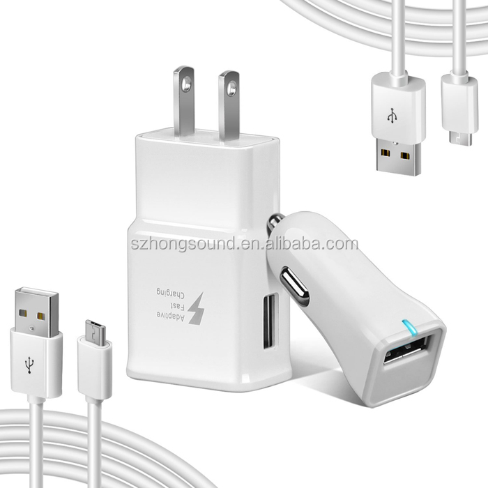 Fast Charger Kit Travel Wall Charger For Samsung Galaxy S8 and S8 Plus/New MacBook/Google Pixel/Nexus 6P