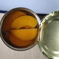 new season 425g canned fruit canned peach slice