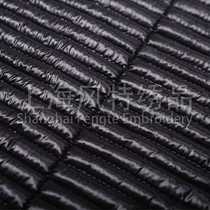 High quality quilted thermal fabric custom design jacquard denim quilted fabric
