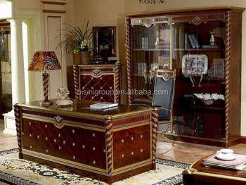Avrupa Tarzi Klasik Ofis Masalari Set Topraklar Ahsap Ofis Mobilya
