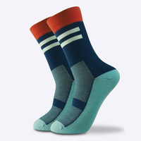 Wholesale sports bike socks with logo manufacturers cycling sock
