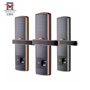 PHIPULO top quality biometric door lock fingerprint digital smart lock