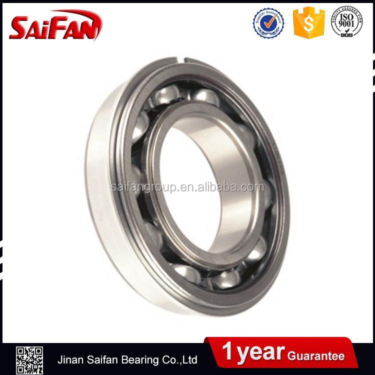 6205-2RS-NR seals bearing W// Snap Ring ball bearings 6205-2RS NR