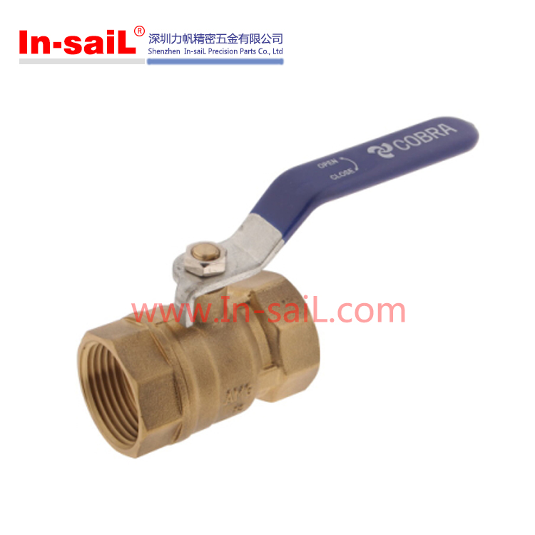 China hardware supplier wholesale pipe fitting 3 inch brass water valve ball valve manufacturer