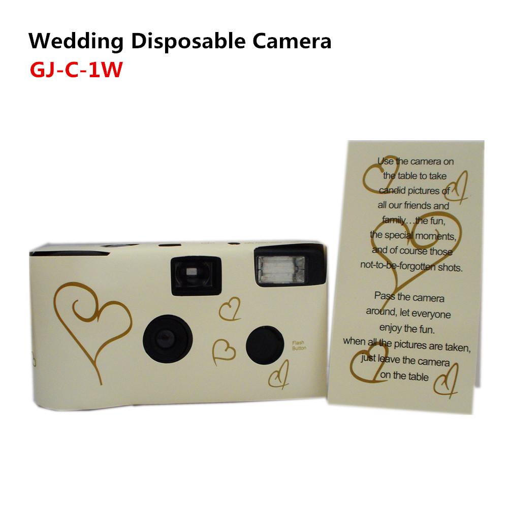 35 mm gros appareil photo de mariage jetable avec flash et pile alcaline avec fuji film - Appareil Photo Jetable Mariage Pas Cher
