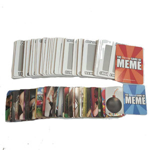 Chinese supplier cardboard playing cards box card board game set