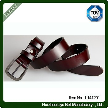 High Fashion Leather Belt Men Europe And Us Hot Sell Cow Leather ...