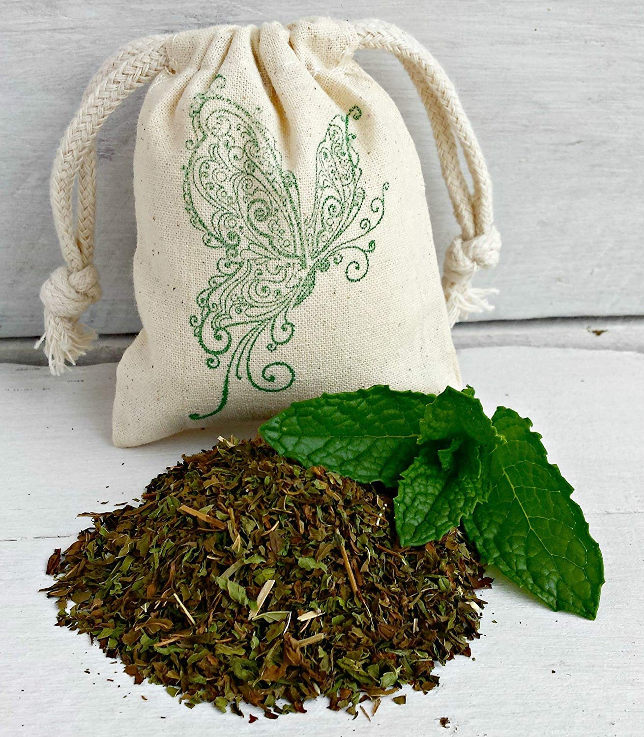 Mint Sachet | Mint Aromatherapy | Peppermint Sachets | Mint Air Freshener | All Natural Mint Sachets | Favor Bags | Spearmint Sachet Bags