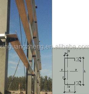 Prefabricated Small Exquisite Large Lightweight Steel Warehouse