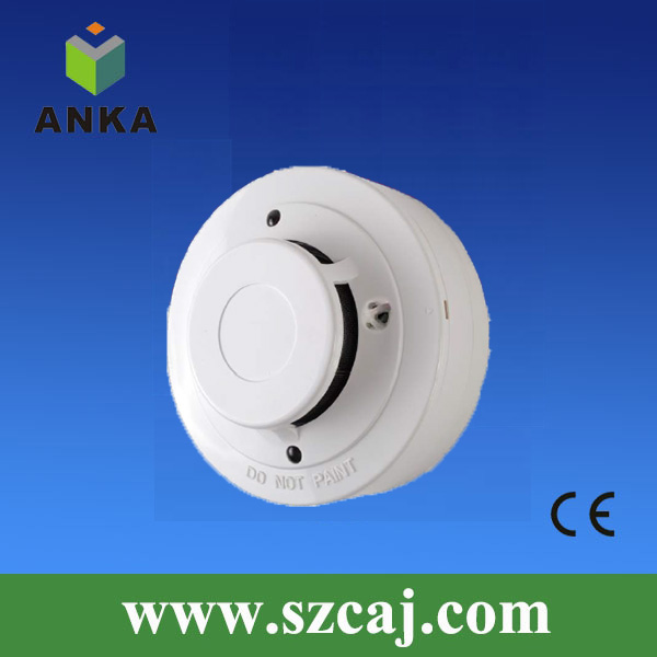 High stability & High accuracy 12V smoke and heat detectors