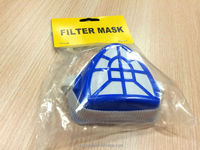 Filter Mask Dust Respirator Activated Carbon Triangle Gauze