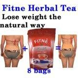 8 Tea Bags New Fitne Fast Slim New Herbal Natural Slimming Detox Weight Loss Laxative