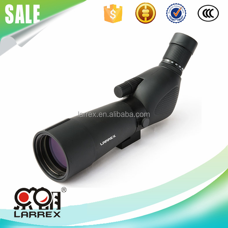 New Promotion Larrex 20 - 60 x 60 Bak4 Optics Reviews Birding Waterproof Spotting Scope From China Factory